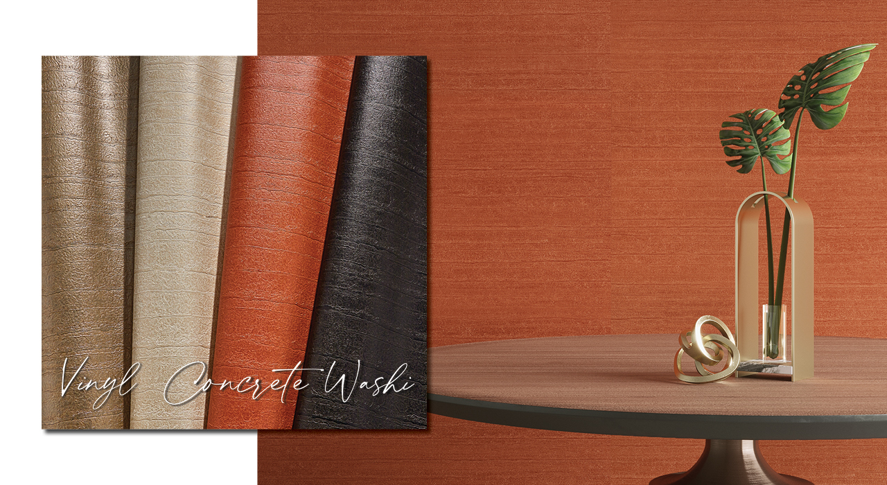 Vinyl Concrete Washi