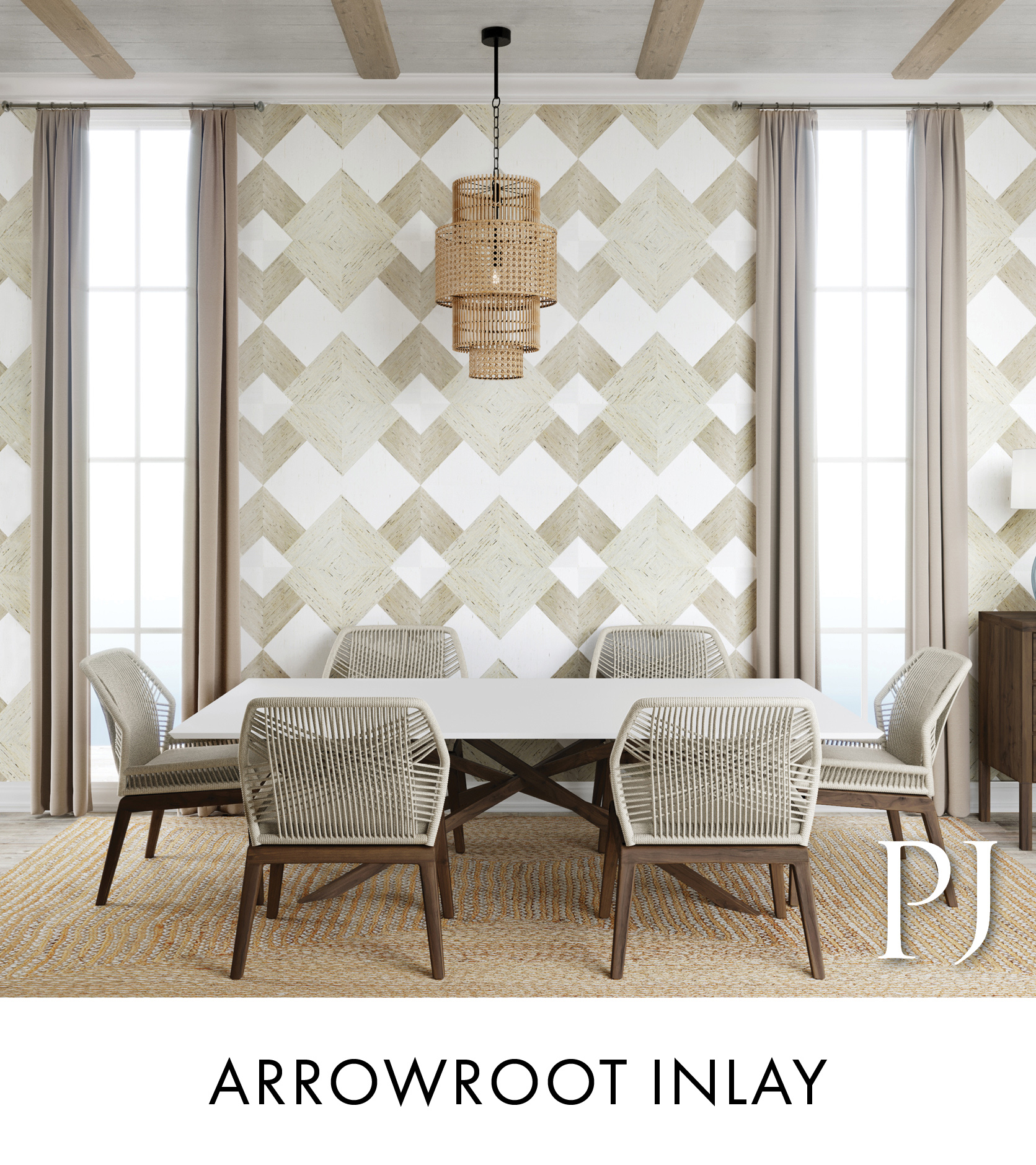 Arrowroot Inlay