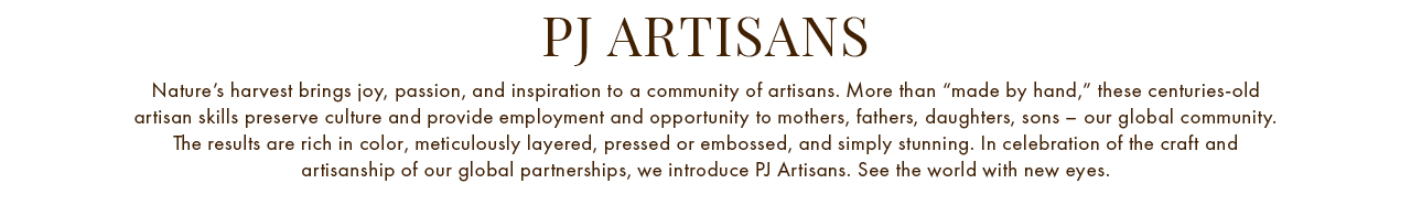 PJ Artisans